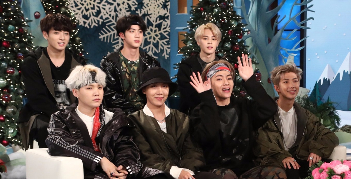 BTS was on Ellen @_@